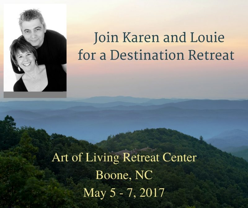 Location: The Art Of Living Retreat Center, Boone, NC Date:Friday, May 5th  Thru Sunday, May 7th, 2017. Cost: $498 (Includes Room, Meals U0026 Tuition)