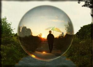 bubble-person
