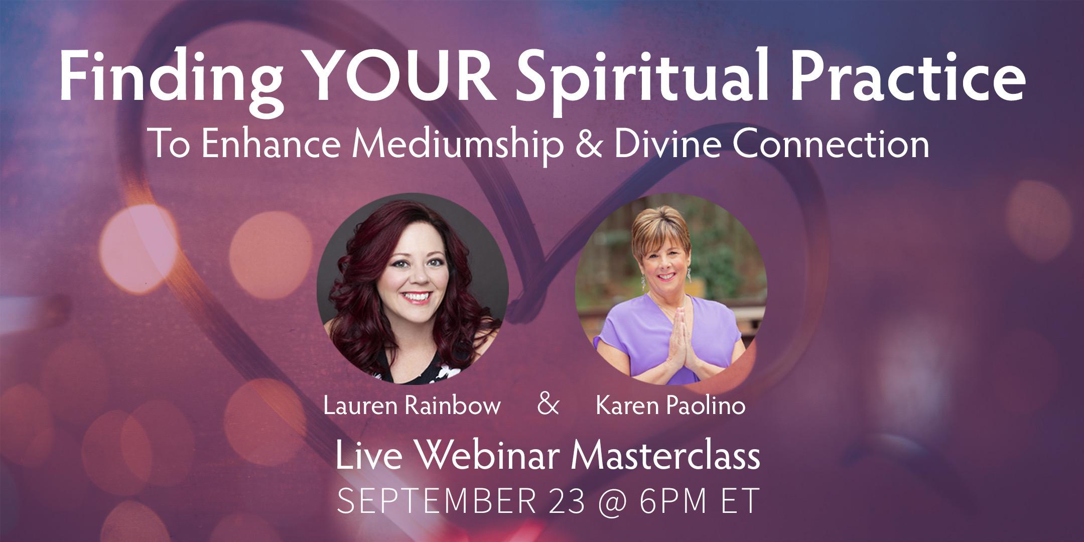 Spiritual Practice Sept 21